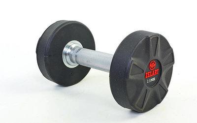 Гантель цельная профессиональная DB6112-2,5 вес 2,5кг