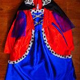 Злодейка Круэлла Де Виль 8-10 лет TU платье новогоднее карнавальное