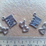 Подвески металлические для подвесок и браслетов