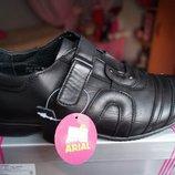 Туфли для мальчика, новые, черные, размеры 36,37,38