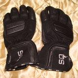 мотокросс перчатки Keprotec Schoeller оригинал кожа и текстиль L 9р идеал