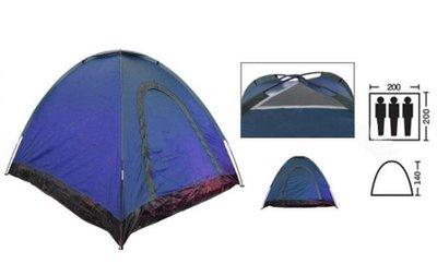 Палатка универсальная самораскладывающаяся трехместная Shengyuan SY-A-35-BL размер 2х2х1,4м