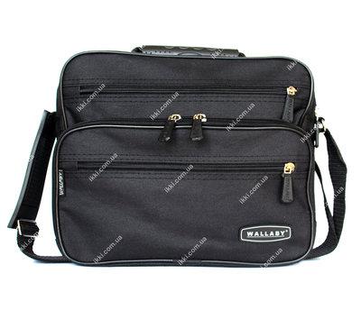 Тканевая вместительная прочная сумка для мужчин 2411