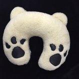 Дорожная подушка-рогалик Лапки панды