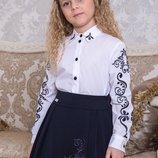 Блуза Полина Suzie Хлопок Размеры 116- 158