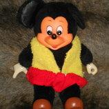 Скидка шикарная винтажная мягкая кукла Микки Маус Mickey Mouse Pedigree Сша оригинал 26 см