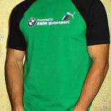 Мужская футболка BMW Motorsport комбинированная .