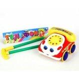 Каталка Машинка-телефон для малышей.