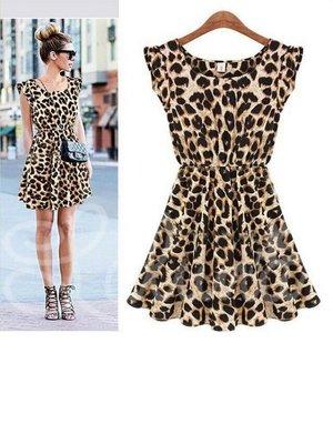 24ea56880b5 леопардовое летнее платье с юбкой солнце  100 грн - женские ...