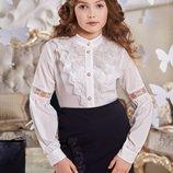 Стильная юбка карандаш Амели Suzie темно синего цвета для девочек Размеры 146-158