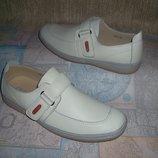 Кожаные туфли мокасины Натуральная кожа