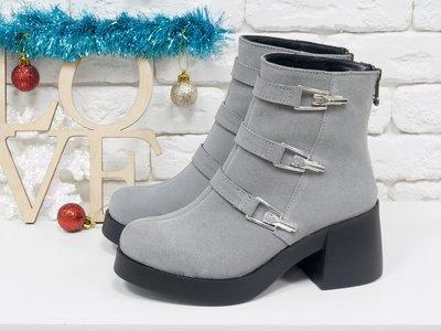 7c2731c62a9040 Натуральные стильные ботинки осень-зима 1668 ,р-ры 36-41,любой цвет ...