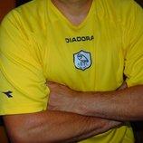 Спортивная оригинальная футбольная футболка Diadora Диадора ф.к Свонси .л-хл