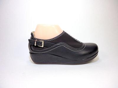 Туфли женские на танкетке, лёгкие, комфортные. Размер 35-40.