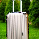 Премиум качество Чемодан пластиковый малый средний большой валіза без передплат