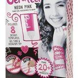 Gel-a-Peel Чудо-Гель для создания детских силиконовых украшений розовый Starter Craft Kit Neon Pink