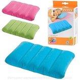 Надувная детская подушка Intex 68676 43х28х9 3 цвета