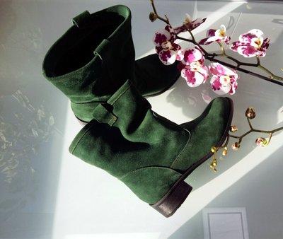 Зимние Демисезонные кожаные женские ботинки сапоги Разные цвета Женская обувь осень 2018