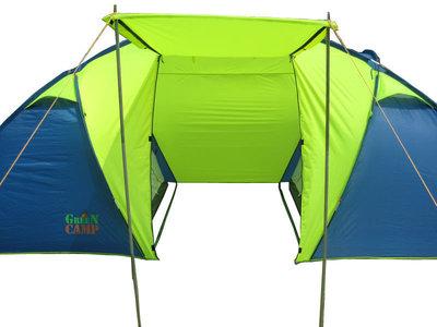 Палатка 6-местная Green Camp 1002