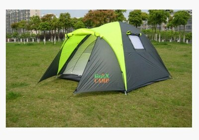Палатка трехместная GreenCamp 1011