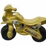 Музыкальный мотоцикл байк кремовый Миньйоны minions 0139/63М Долони украина