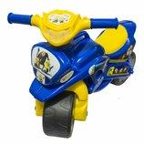 Музыкальный мотоцикл байк синий Миньйоны minions 0139/57М Долони украина Мото Байк