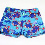 Плавки Купальные мальчику, детские пляжные трусики, летние шорты