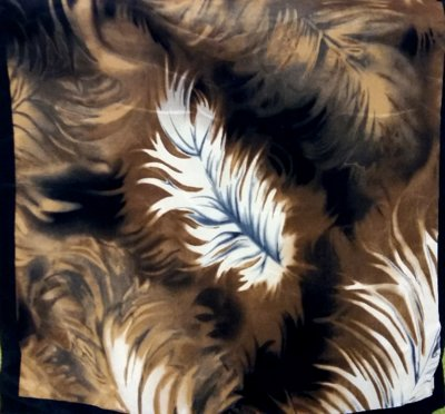 Шейный шелковый платок.Швейцария