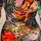 Красивая ,яркая туника ,блуза от Alba Moda.Италия.Оригинал