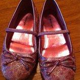 Нарядные туфельки, балетки р.31,32