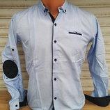 Рубашка хлопок на рост 128-158 разные модели