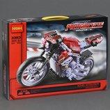 Конструктор Decool 3353 Motorbike Мотобайк аналог Lego Technic 8051