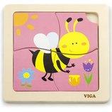 Пазл Viga Toys Пчелка 50138