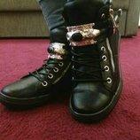 Женские демисезонные ботинки, распродажа