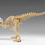 Деревянный конструктор пазл динозавр объемный Аллозавр 30502
