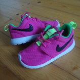 Кроссовки Nike Roshe Run Pink оригинал 25 размер