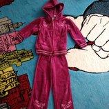 Велюровый костюм на 2-3 года
