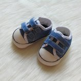 Новые пинетки для маленького модника. George. Размер 3-6 месяцев