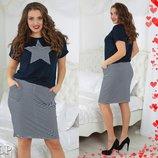 Роспродажа летних женских костюмов р 48.50.52 по супер цене