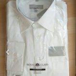 Рубашка новая белая мужская Royal Class Германия р. 40