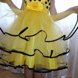 яркое нарядное платье в наличии