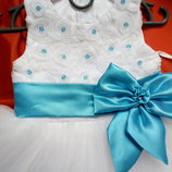 Нежное платье для принцессы на 1-2года