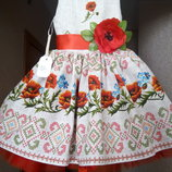 Платье Украиночка под заказ