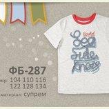 110-134см футболка для мальчика Морской узел Бемби