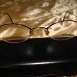 очки оправа DKNY оригинал Италия винтаж металл идеал