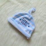 Велюровая шапочка для маленького модника. Early Days. Размер 9-12 месяцев. Состояние идеальное