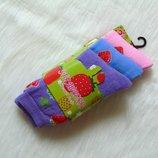 Новые термо носки для девочки. В комплекте 3 пары. Strawberry. Размер 31-34 12.5-3.5