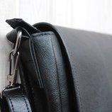 Мужская кожаная сумка. сумка через плечо. сумка