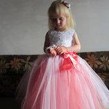 Нарядное платье Розочка цвет разный