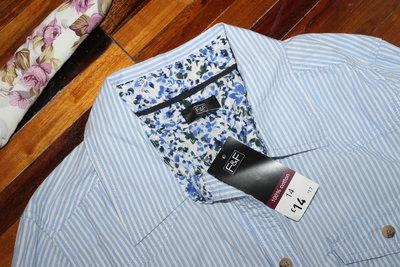 Полосатая рубашка с карманами F F разм 14  200 грн - рубашки e5c68c06e716e